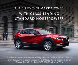 The First-Ever Mazda CX-30 in Portsmouth, NH