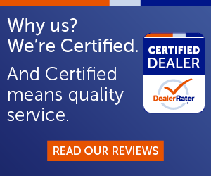 why us? we're certified.