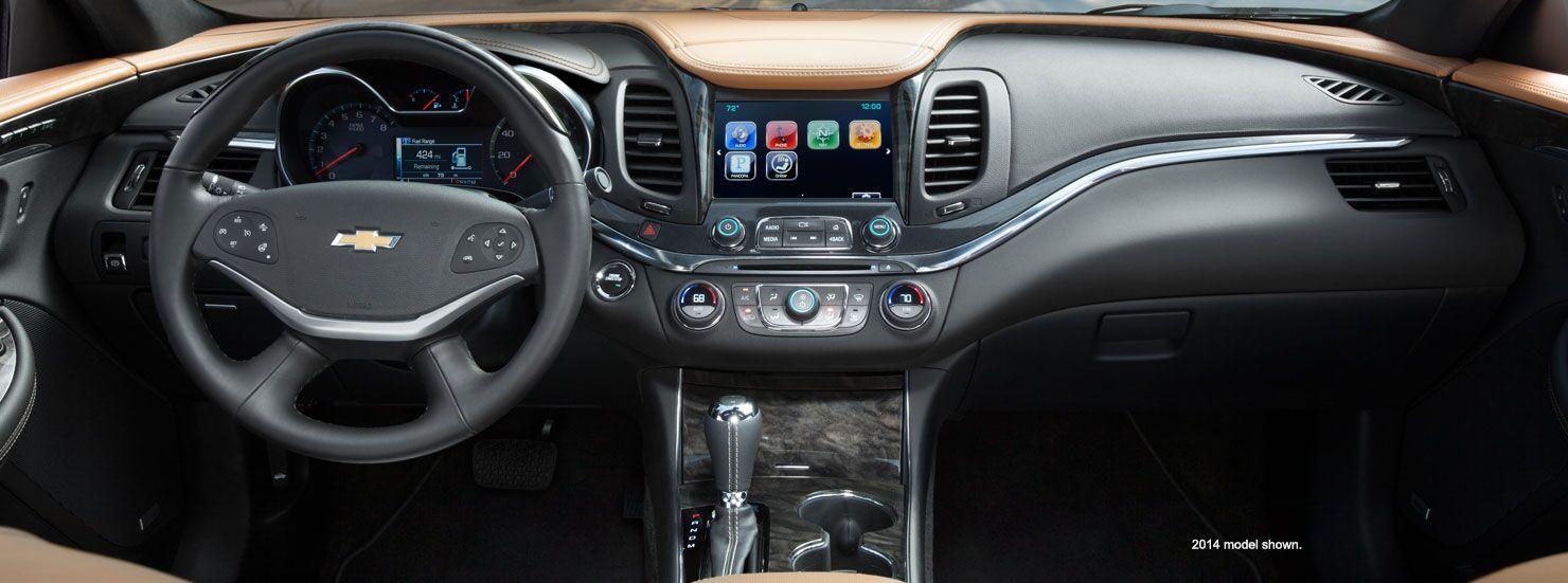 2015 dodge charger vs 2015 chevrolet impala for Chevrolet impala 2015 interior