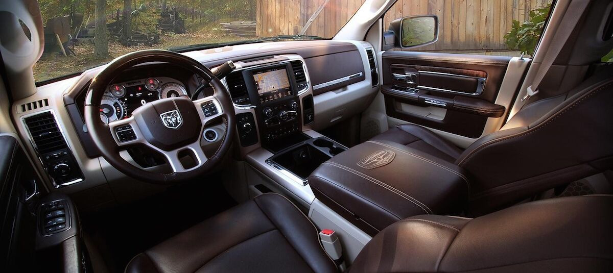 2016 Dodge Ram Interior