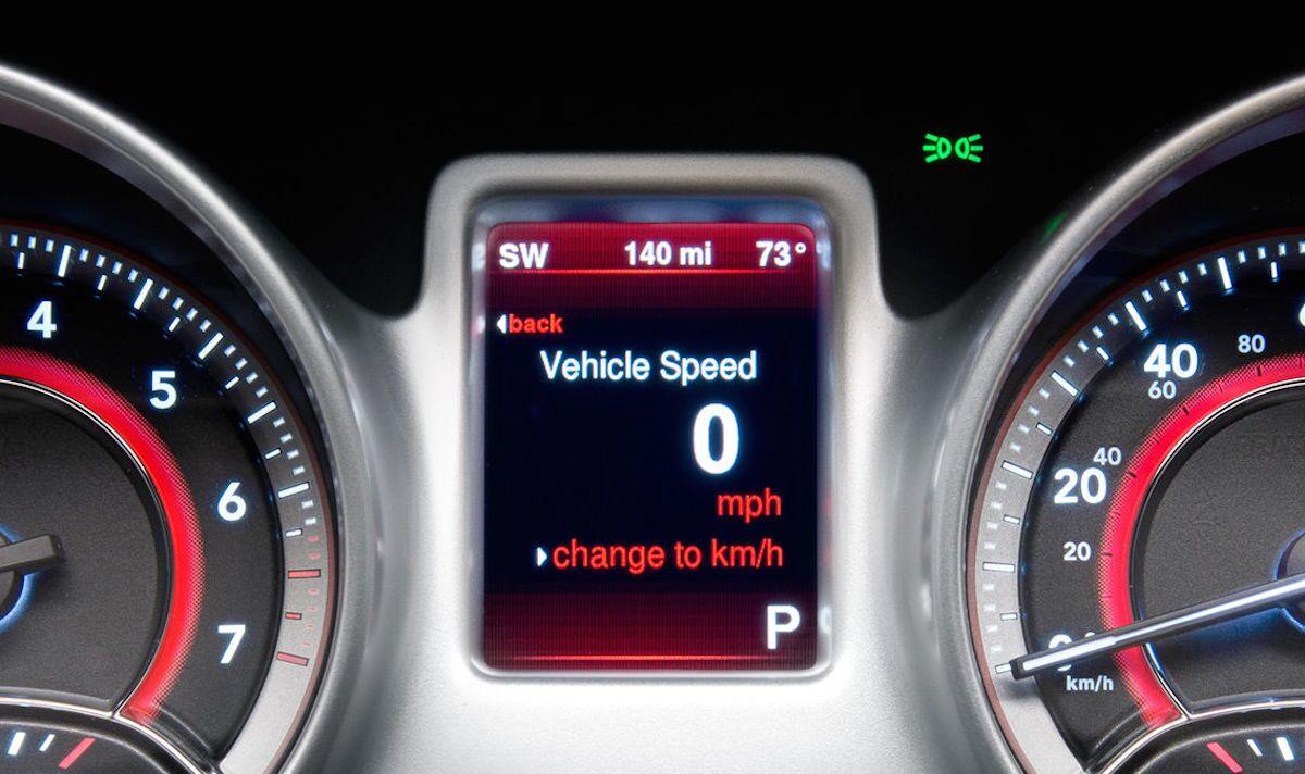 2016 Dodge Journey Digital Display