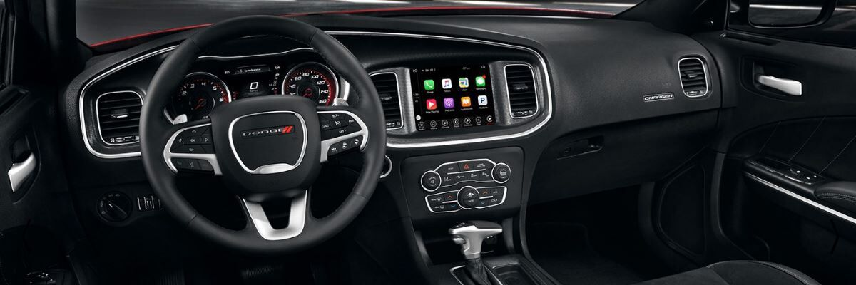2017 Dodge Charger interior available at South Florida Dodge dealer