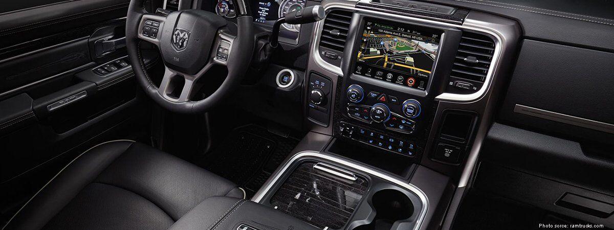 2017 Ram 3500 interior