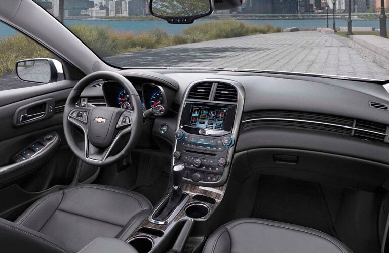 2015 Chevy Malibu features