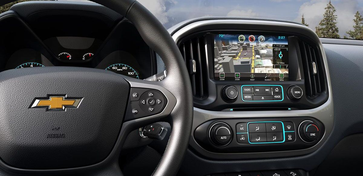 2015 Chevrolet Colorado - Interior Tech