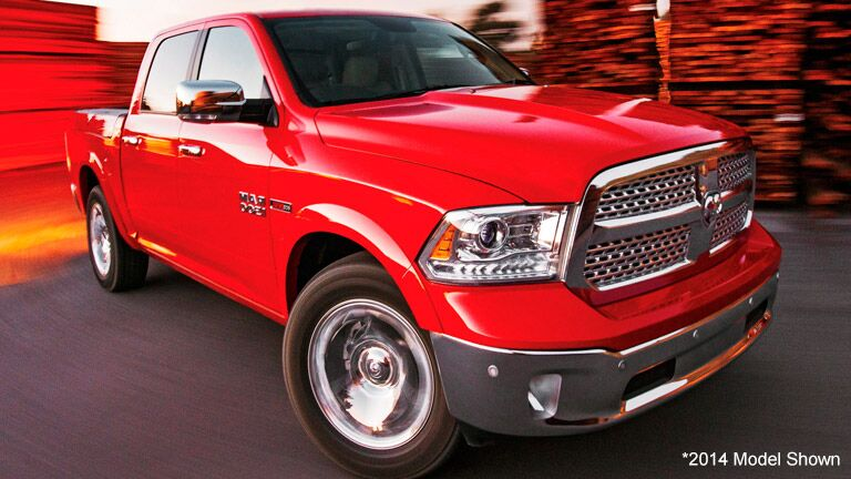 front exterior of the 2015 Ram 1500
