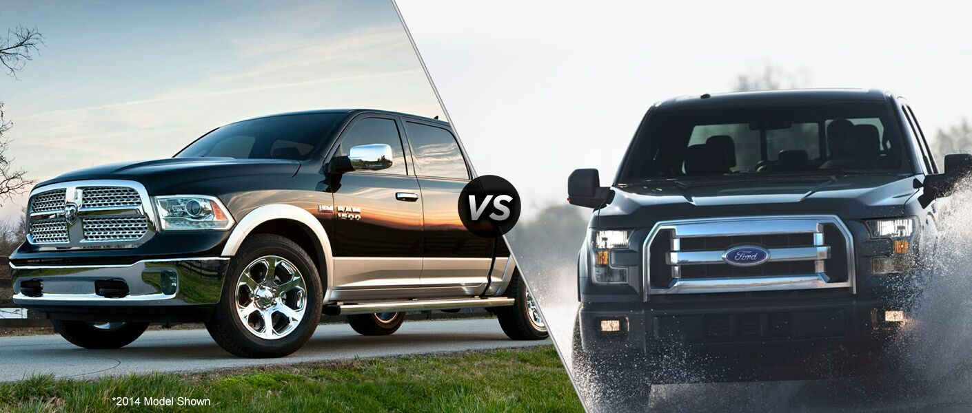 2015 Dodge Ram 1500 vs 2015 Ford F-150
