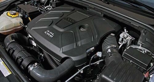 2016 Jeep Grand Cherokee Engine