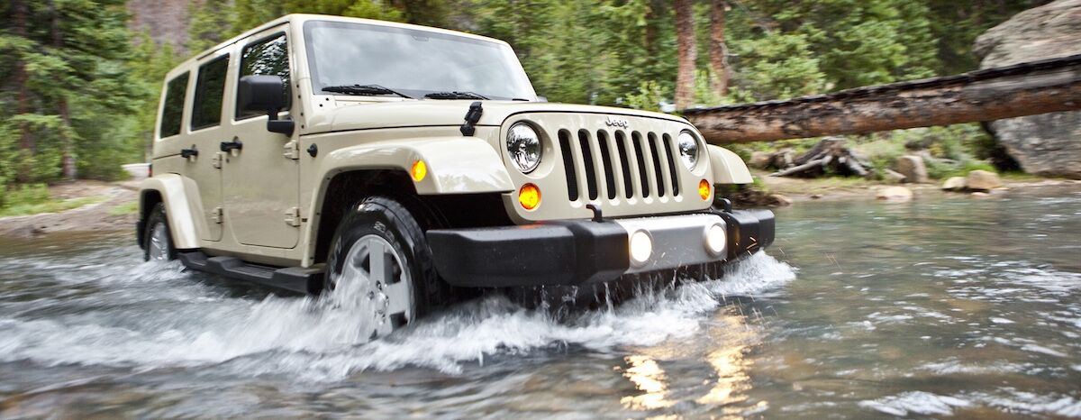 Jeep Wrangler Water