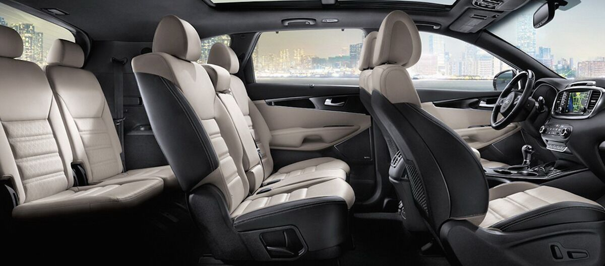 2016 Kia Sorento Seating