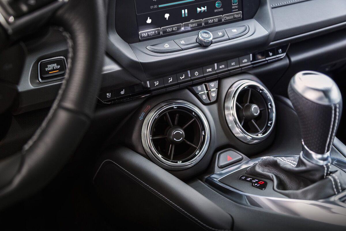 Chevy Camaro Interior