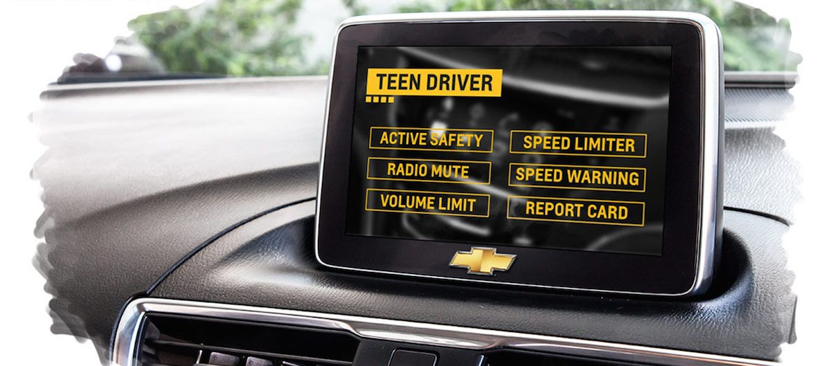 2016 Chevy Malibu Teen Driver