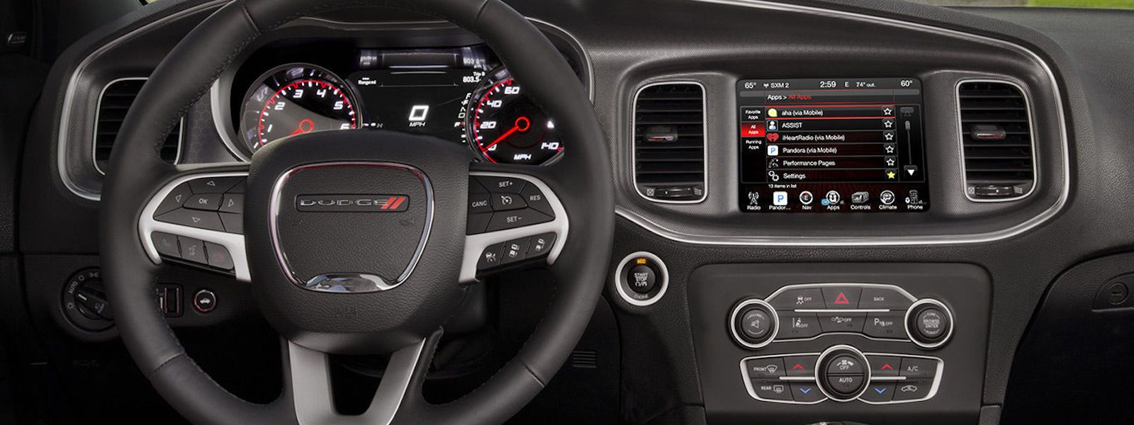 2016 Dodge Charger Technology