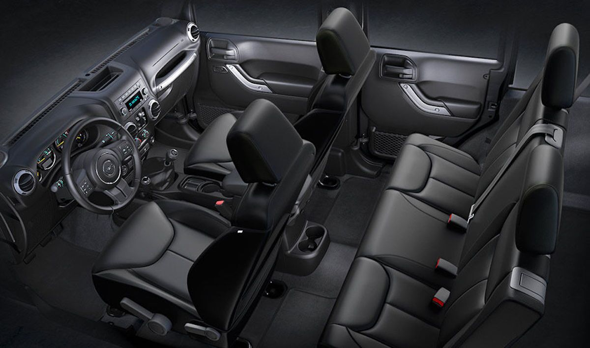 2016 Jeep Wrangler A Versatile And Comfortable Interior
