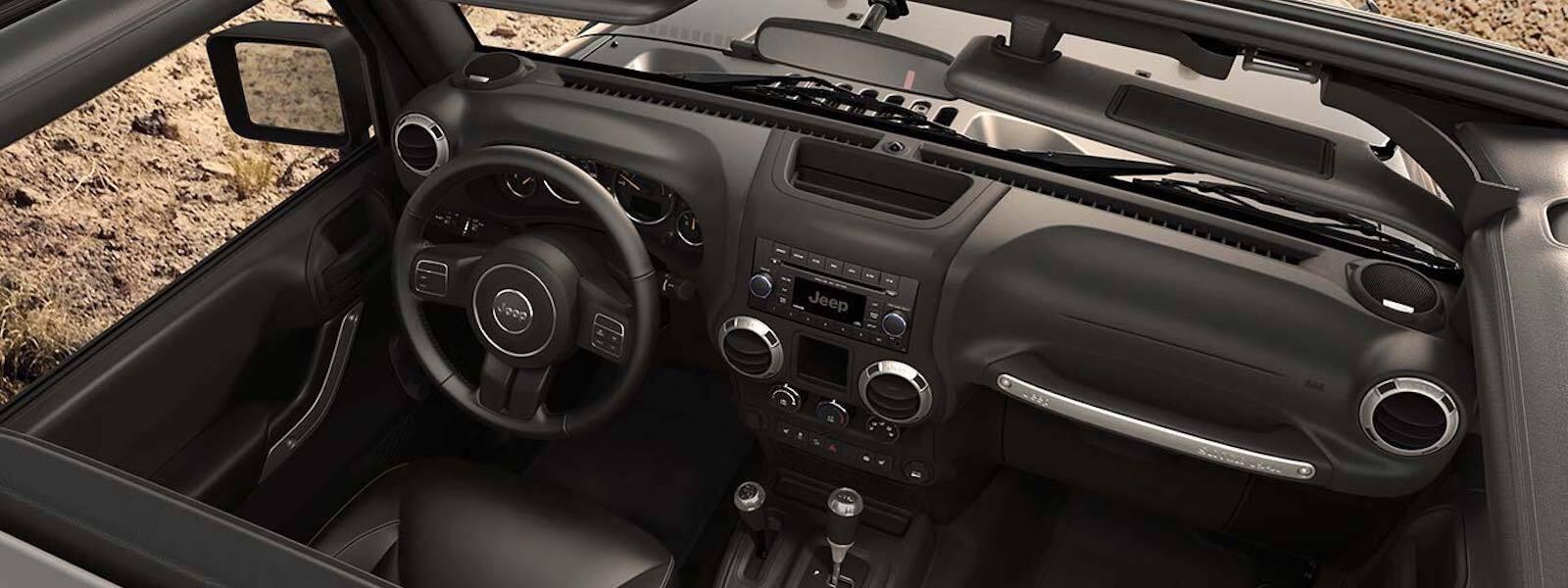 2016 Jeep Wrangler Technology