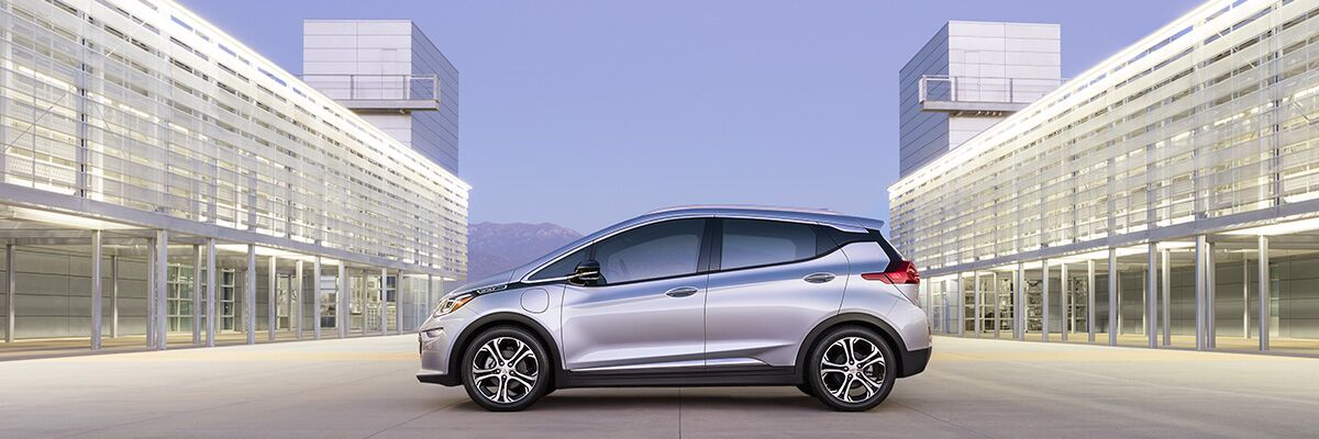 Chevy Bolt EV is an all-electric vehicle