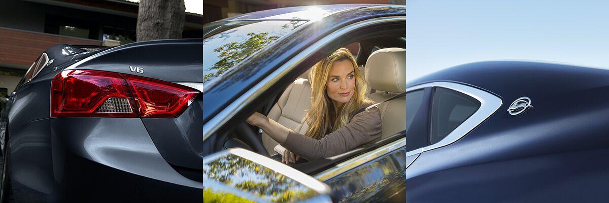 2017 Chevy Impala exterior