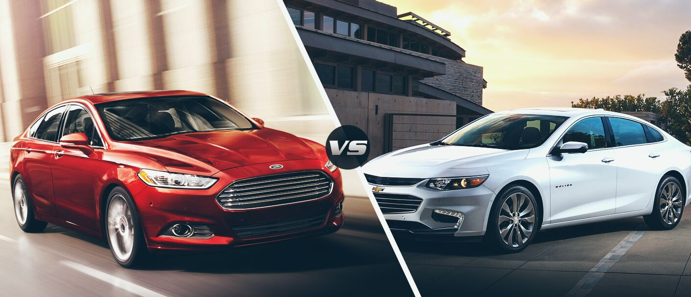 2016 Chevy Malibu VS 2016 Ford Fusion