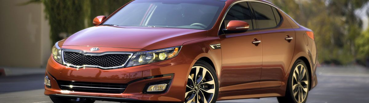 History of Kia Optima