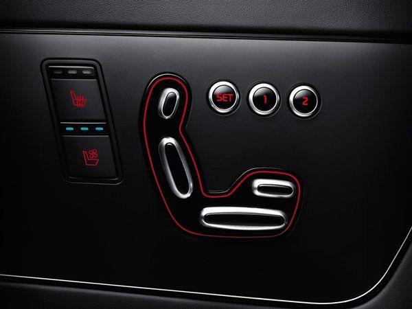 Kia K900 - Driver Setup Memory System