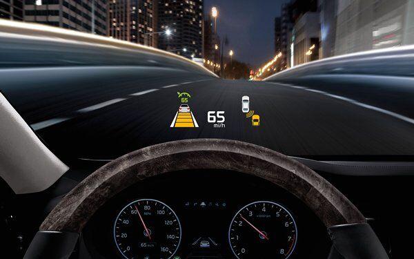 Kia K900 - Heads Up Display System (HUD)