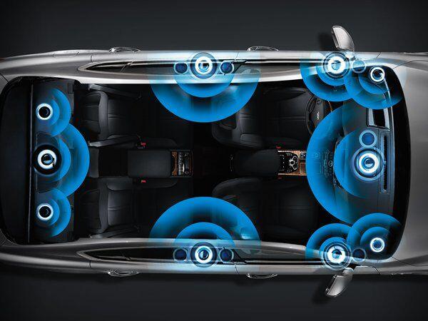 Kia K900 - Lexicon 17-Speaker Surround Sound Audio System
