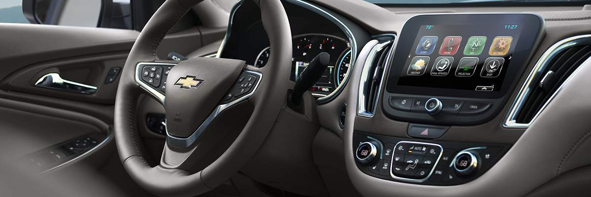 Chevy Malibu interior features