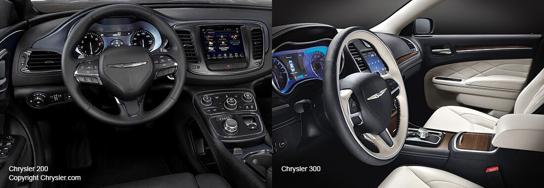 2016 Chrysler 200 and 300 Technology