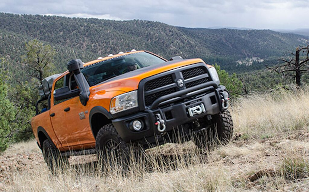 Previewing The Dodge Ram Prospector Package