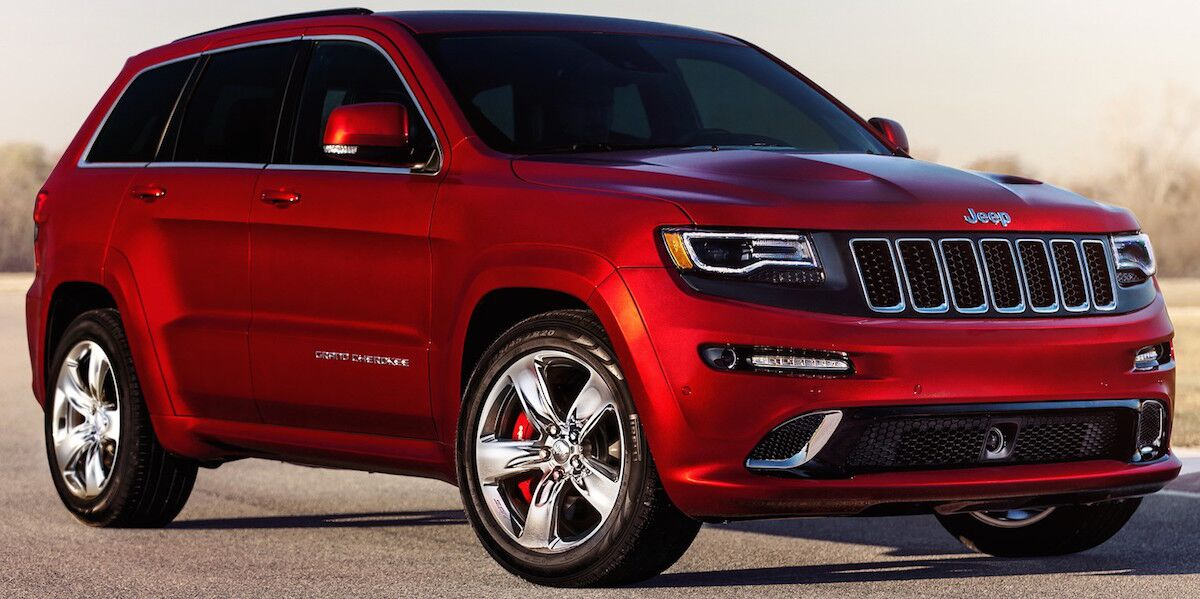 Jeep Grand Cherokee - Red