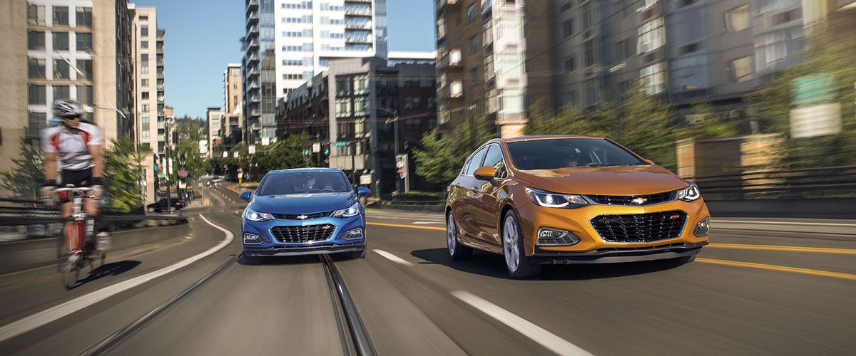 2017 Chevrolet Cruze Driving and Handling