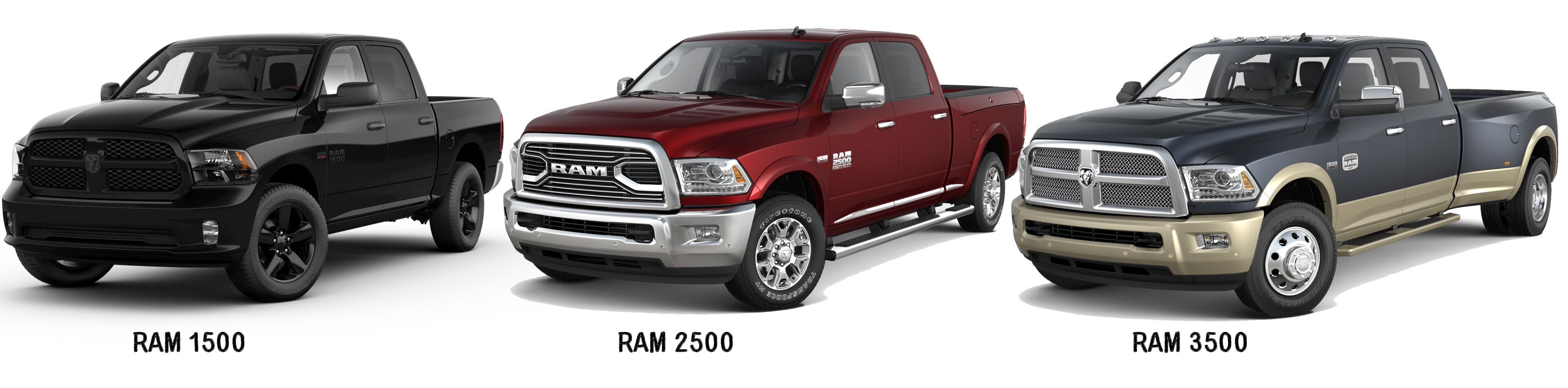 ram 1500 light and heavy duty trucks