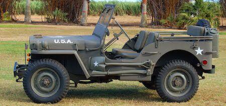 WWII Army Jeep