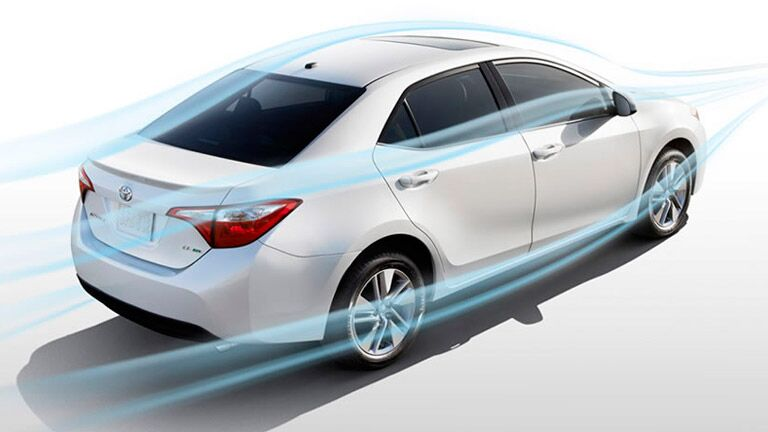 The 2015 Toyota Corolla Palo Alto is fun to drive and easy to navigate.