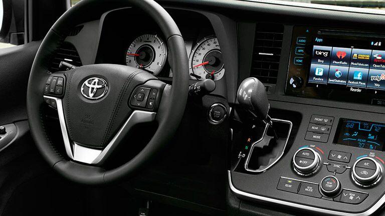 2015 Toyota Sienna steering wheel Toyota Palo Alto CA