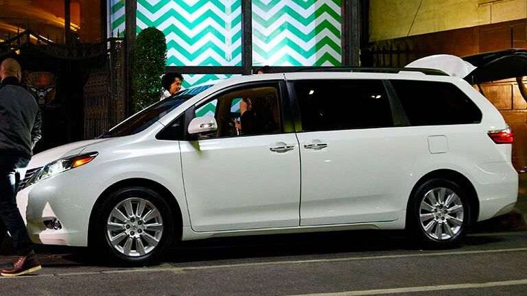 2015 white Toyota Sienna Toyota Palo Alto CA