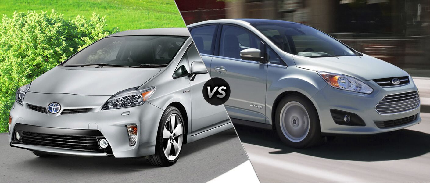 2015 toyota prius vs ford c max hybrid energy sedan compact hatchback four door palo alto california fuel efficiency