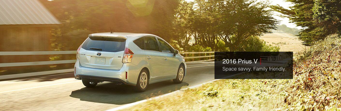 2016 Toyota Prius v model information  Palo Alto CA