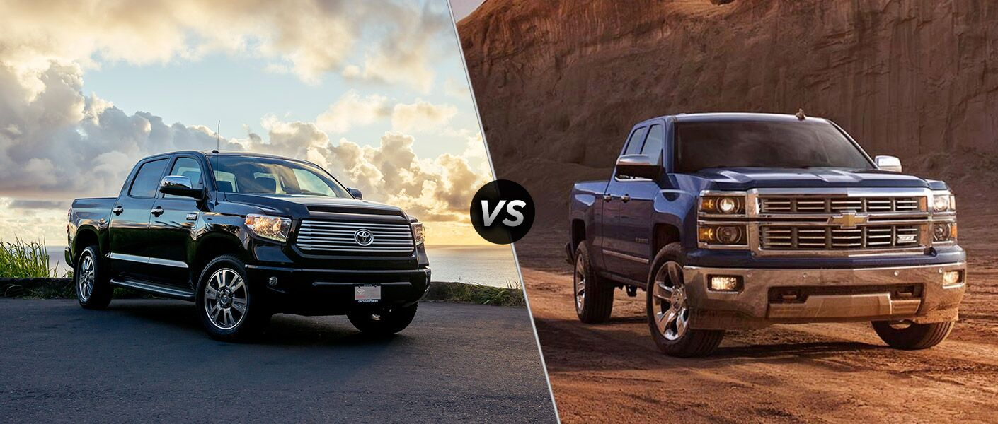 How does the 2016 Toyota Tundra compare to the 2016 Chevy Silverado?