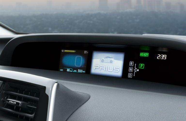 2017 Toyota Prius dashboard warning lights