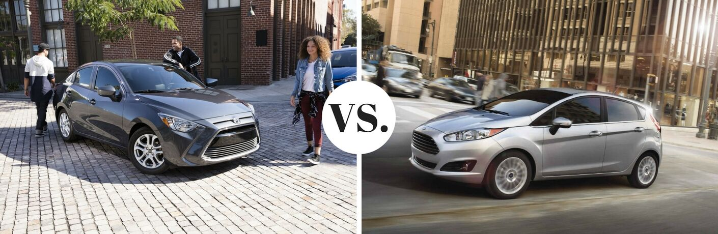 2017 Toyota Yaris iA vs 2017 Ford Fiesta Hatchback