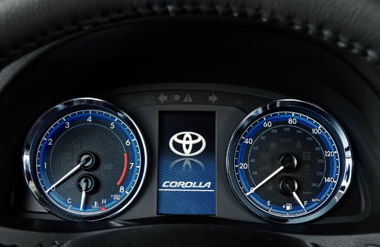 Multi Information Display of 2019 Toyota Corolla