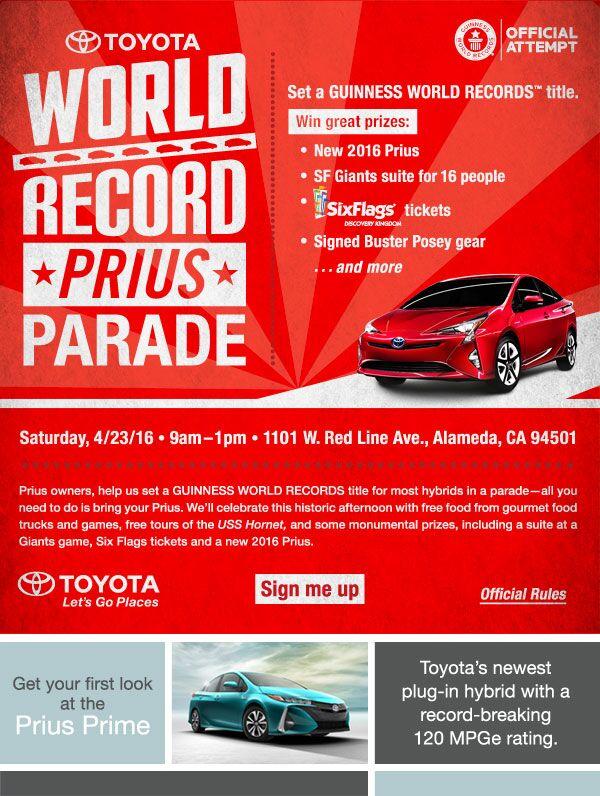Prius Owner Celebration Event.