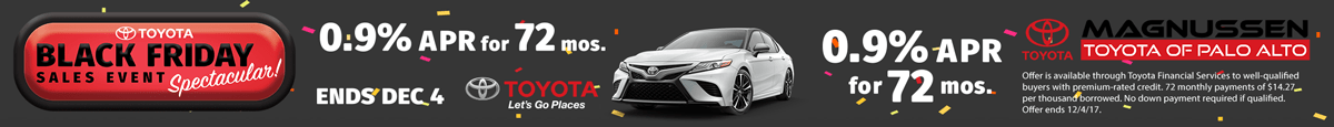 Click to see Toyota Black Friday Deals