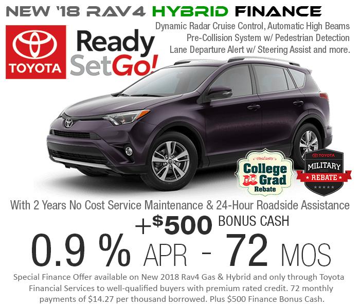 SF Bay Area Hybrid Rav4 Dealer