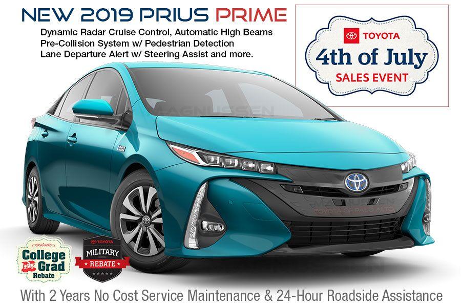 2019 Toyota Prius Prime July 4th Sale