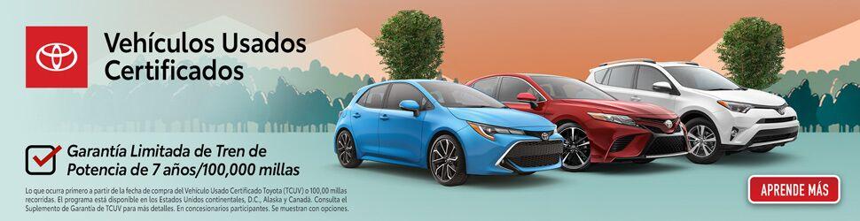 Toyota Vehiculos Usados Certificados - Clic Aqui