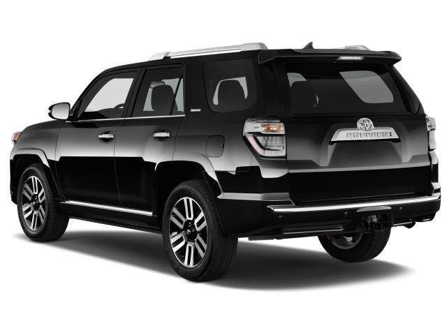 2016 Toyota 4Runner Rear View
