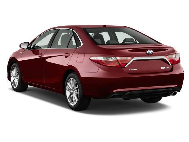 2016 Toyota Camry Hybrid Rear View