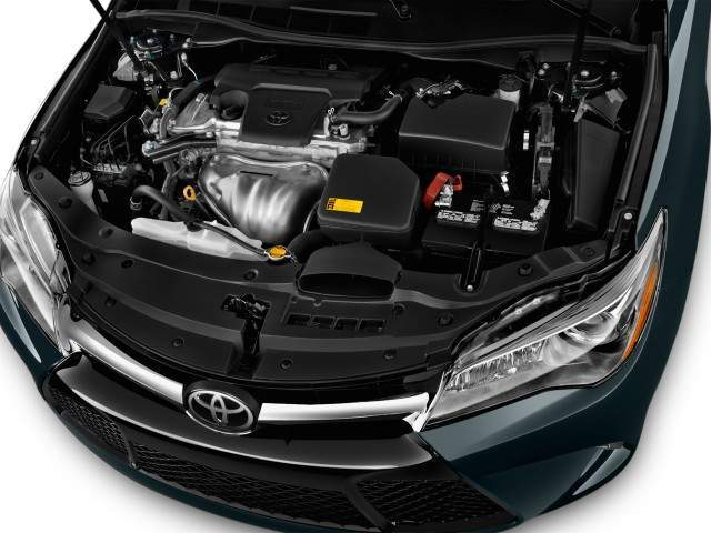 2016 Toyota Camry Engine View